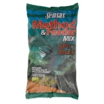 Захранка Sensas Method Feeder Mix - Spicy Meat