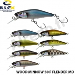 Дървени воблери ILLEX WOODMINNOW 50 Floating Friender MD