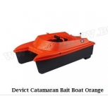 Лодка за захранка DEVICT CATAMARAN Bait Boat Orange