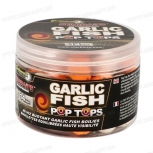 Трицветни плуващи топчета Starbaits Performance Concept Garlic Fish Pop Tops